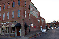 Historic downtown Cape Girardeau on March 5, 2010.