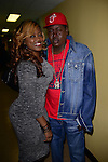 MIAMI, FL - JANUARY 16: Radio personality Supa Cindy and rapper Trick Daddy backstage during The Festival of Laughs day1 at James L Knight Center on Friday January 16, 2015 in Miami, Florida. (Photo by Johnny Louis/jlnphotography.com)