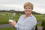 Golf Union of Wales Tour Player of the Year Lydia Hall.<br /> Celtic Manor Resort<br /> 03.03.17<br /> ©Steve Pope - Sportingwales