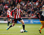 Paul Coutts of Sheffield Utd in action during the English League One match at Bramall Lane Stadium, Sheffield. Picture date: April 17th 2017. Pic credit should read: Simon Bellis/Sportimage