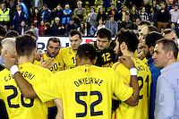 jucatorii nationalei Austrei se bucura la finalul meciului