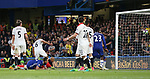 Chelsea's John Terry scoring his sides opening goal during the Premier League match at Stamford Bridge Stadium, London. Picture date: May 15th, 2017. Pic credit should read: David Klein/Sportimage