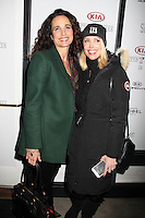 Stacia Robitaille, Andie MacDowell<br /> KIA SUPPER SUITE BY STK hosts gala dinner for Luc Robitaille's ECHOES OF HOPE charity, Handle Restaurant and Bar, Park City, UT 01-23-15<br /> David Edwards/DailyCeleb.com 818-915-4440