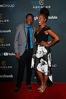 LOS ANGELES - SEP 8:  CJ Jones, Storm Smith at the 13th Annual ADCOLOR Awards at the JW Marriott on September 8, 2019 in Los Angeles, CA