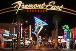 Fremont East neon at night, Las Vegas, Nev. (Neon Museum)