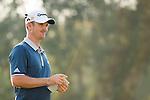 Justin Rose of England at the 18th hole during the 58th UBS Hong Kong Golf Open as part of the European Tour on 08 December 2016, at the Hong Kong Golf Club, Fanling, Hong Kong, China. Photo by Marcio Rodrigo Machado / Power Sport Images