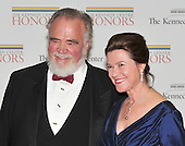 Herbert V. Kohler, Jr. and his wife, Natalie, arrive for the formal Artist's Dinner at the United States Department of State in Washington, D.C. on Saturday, December 4, 2010..Credit: Ron Sachs / CNP.