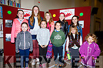 Enjoying the music, dancing and story telling at the fundraiser in aid of Valentia Community Centre on Saturday were front l-r; Aisling O'Sullivan, Clíona O'Shea, Liam O'Shea, ZoeO'Driscoll, Zena O'Driscoll, back l-r; Jennifer O'Sullivan, Caoimhe Hurley, Tessie O'Sullivan, Keelin O'Shea & Aoife Hurley.