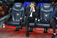 Ernesto Valverde <br /> 18/12/2019 <br /> Barcelona - Real Madrid<br /> Calcio La Liga 2019/2020 <br /> Photo Paco Largo Panoramic/insidefoto <br /> ITALY ONLY
