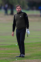 Robert Rock (ENG) on the 16th fairway during Round 1of the Sky Sports British Masters at Walton Heath Golf Club in Tadworth, Surrey, England on Thursday 11th Oct 2018.<br /> Picture:  Thos Caffrey | Golffile<br /> <br /> All photo usage must carry mandatory copyright credit (© Golffile | Thos Caffrey)