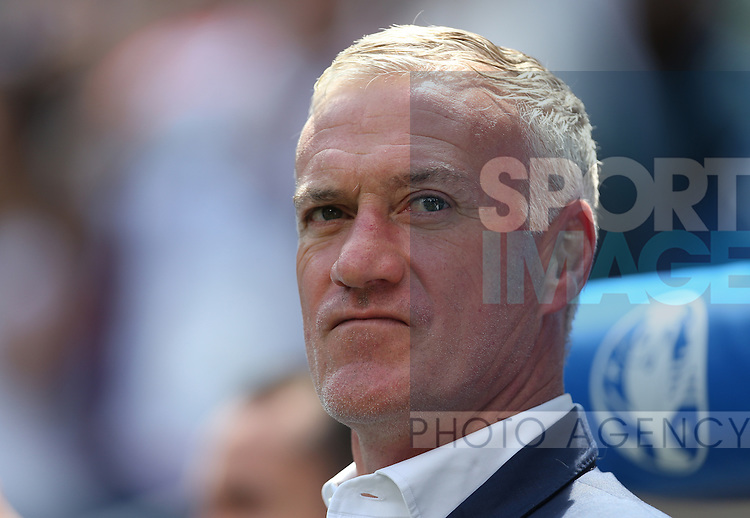 Didier Deschamps coach of France during the UEFA European Championship 2016 match at the Stade de Lyon, Lyon. Picture date June 25th, 2016 Pic Phil Oldham/Sportimage