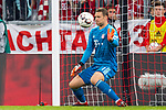 06.10.2018, Allianz Arena, Muenchen, GER, 1.FBL,  FC Bayern Muenchen vs. Borussia Moenchengladbach, DFL regulations prohibit any use of photographs as image sequences and/or quasi-video, im Bild Tor zum 0-3 durch Patrick Herrmann (Moenchengladbach #7) nicht im Bild mit Manuel Neuer (FCB #1) <br /> <br />  Foto &copy; nordphoto / Straubmeier