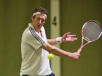 March 7, 2015, Netherlands, Hilversum, Tulip Tennis Center, NOVK,Jan Pieter Noordermeer (NED)<br /> Photo: Tennisimages/Henk Koster