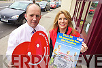 FUN RUN: Advertising Manager with Kerry's Eye, Brendan Kennelly and Anne Riordan of the Irish Heart Foundation announcing details of the Tralee Fun Run and Mini-Marathon.