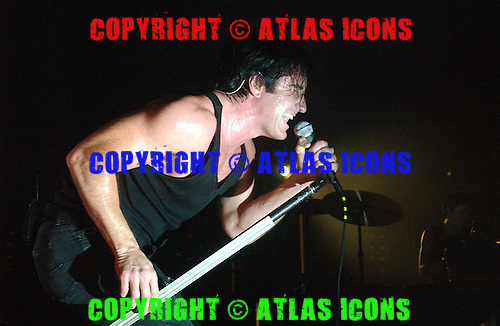 Nine Inch Nails, 2005.Photo Credit: David Atlas/Atlas Icons.com