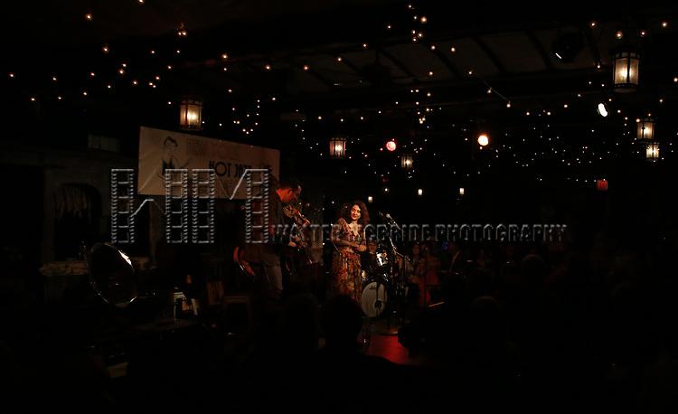 Tatiana Eva-Maria & The Avalon Jazz Band performs at the New York Hot Jazz Festival own September 30, 2018 at The McKittrick Hotel in New York City.