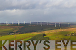 Aerial photo of Windfarm near Castleisland County Kerry