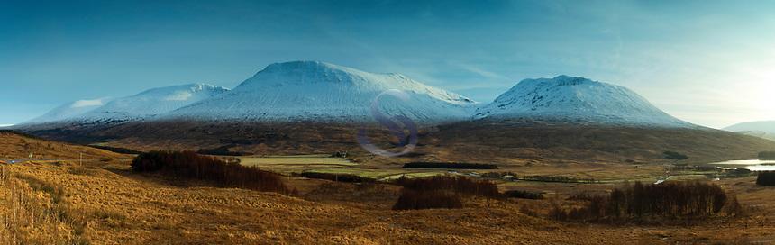 The Wall of Rannoch, Beinn Achaladair and Beinn an Dothaidh, Argyll & Bute