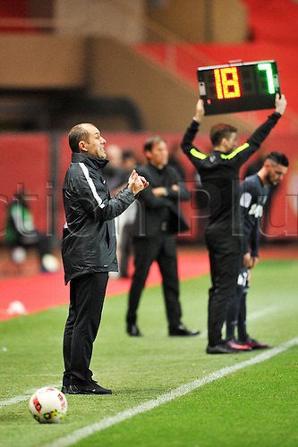 26.11.2016. Monaco, France. French League 1 football. Monaco versus Marseille.  LEONARDO JARDIM (TRAINER MONACO)