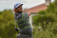 Jon Rahm (ESP) watches his tee shot on 3 during day 3 of the WGC Dell Match Play, at the Austin Country Club, Austin, Texas, USA. 3/29/2019.<br /> Picture: Golffile | Ken Murray<br /> <br /> <br /> All photo usage must carry mandatory copyright credit (© Golffile | Ken Murray)