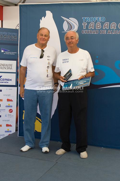Porrón .XIV TROFEO TABARCA CIUDAD DE ALICANTE.Real Club de Regatas de Alicante, 9 al 12 de Julio de 2009