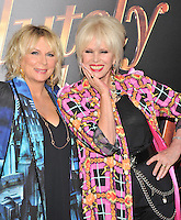 New York,NY-May 18: Jennifer Saunders , Joanna Lumley attend the 'Absolutely Fabulous: The Movie' New York premiere at SVA Theater on July 18, 2016 in New York City. @John Palmer / Media Punch