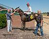 El Rey's Reina winning at Delaware Park on 8/5/13