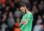 David De Gea of Manchester United named as captain for the first time during the premier league match at the Vitality Stadium, Bournemouth. Picture date 18th April 2018. Picture credit should read: David Klein/Sportimage