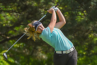 Brooke M. Henderson (CAN) watches her tee shot on 2 during round 4 of the 2018 KPMG Women's PGA Championship, Kemper Lakes Golf Club, at Kildeer, Illinois, USA. 7/1/2018.<br /> Picture: Golffile | Ken Murray<br /> <br /> All photo usage must carry mandatory copyright credit (&copy; Golffile | Ken Murray)
