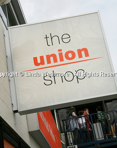 Student Union Shop, University of Surrey.