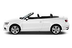 Car driver side profile view of a 2018 Audi A3 Premium 2 Door Convertible
