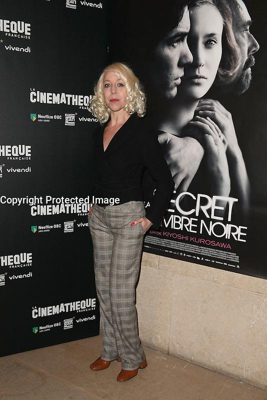 Celine FUHRER - Avant-premiere du film ' Le Secret de la Chambre Noire ' de Kiyoshi Kurosawa - La Cinematheque francaise 6 fevrier 2017 - Paris - France