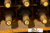 Old sauternes bottles 1982 and 1983 - Chateau Haut Bergeron, Sauternes, Bordeaux