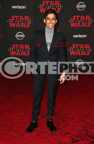 LOS ANGELES, CA - DECEMBER 9: Karan Brar, at Premiere Of Disney Pictures And Lucasfilm's 'Star Wars: The Last Jedi' at Shrine Auditorium in Los Angeles, California on December 9, 2017. Credit: Faye Sadou/MediaPunch /NortePhoto.com NORTEPHOTOMEXICO