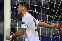 Ciro Immobile of Lazio reacts during the Uefa Europa League 2018/2019 football match between SS Lazio and Marseille at stadio Olimpico, Roma, November, 08, 2018 <br />  Foto Andrea Staccioli / Insidefoto