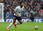 5th November 2017, Wembley Stadium, London England; EPL Premier League football, Tottenham Hotspur versus Crystal Palace; Mousa Dembele of Tottenham Hotspur in action
