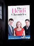 'The Heidi Chronicles' - Theatre Marquee