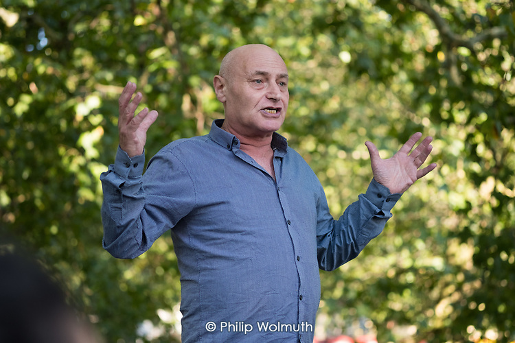Martin Besserman, Speakers' Corner, Hyde Park, London.