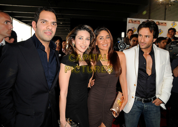 GUESTS, SAIF KHAN & KAREENA KAPOOR.Attending the Zee Cine Awards, .Excel Centre, London, England, .April 26th 2008..half length.CAP/CAN.©Can Nguyen/Capital Pictures