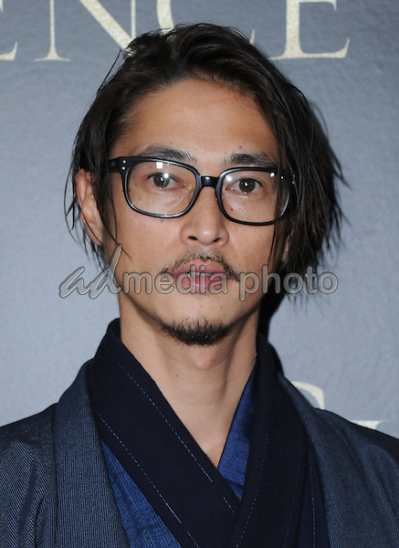 "05 January 2017 - West Hollywood, California - Yosuke Kubozuka. ""Silence"" Los Angeles Premiere held at the Director's Guild of America. Photo Credit: Birdie Thompson/AdMedia"