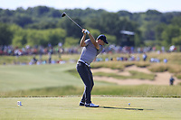 Jordan Spieth (USA) tees off the 7th tee during Friday's Round 2 of the 117th U.S. Open Championship 2017 held at Erin Hills, Erin, Wisconsin, USA. 16th June 2017.<br /> Picture: Eoin Clarke | Golffile<br /> <br /> <br /> All photos usage must carry mandatory copyright credit (&copy; Golffile | Eoin Clarke)