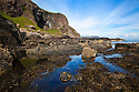 Tidal pool, Carsaig, Isle of Mull, Scotland, UK. June.