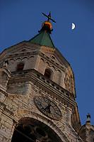 Europe/Italie/Vénétie/Dolomites/Cortina d'Ampezzo: Clocher de l'Eglise