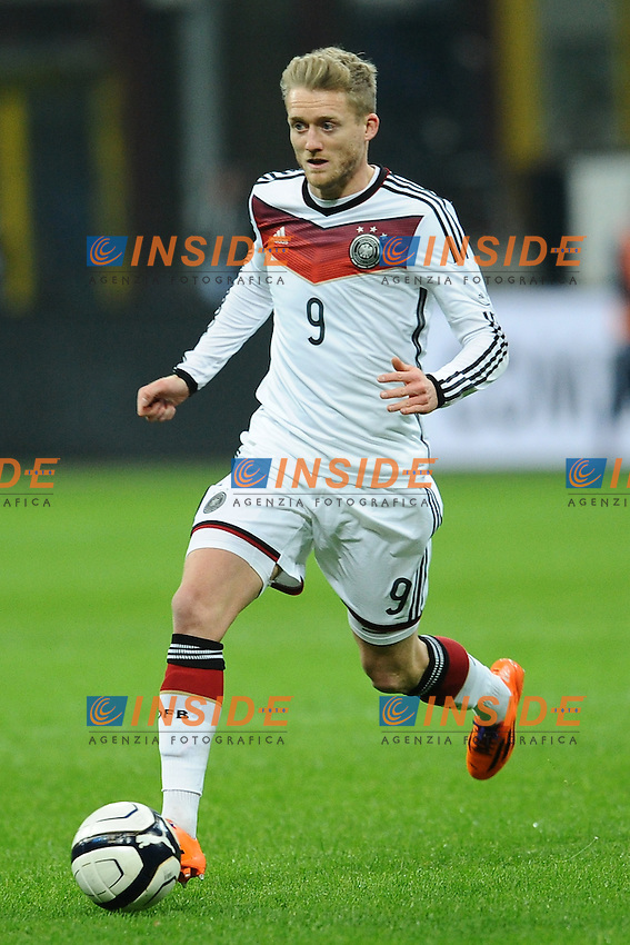 Andre Schurrle Germany. Milano 15-11-2013 Stadio Giuseppe Meazza San Siro - Football Calcio Friendly Match  2013/2014 - Italia - Germania / Italy - Germany - Foto Antonietta Baldassarre / Insidefoto