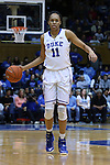01 March 2015: Duke's Azura Stevens. The Duke University Blue Devils hosted the University of North Carolina Tar Heels at Cameron Indoor Stadium in Durham, North Carolina in a 2014-15 NCAA Division I Women's Basketball game. Duke won the game 81-80.
