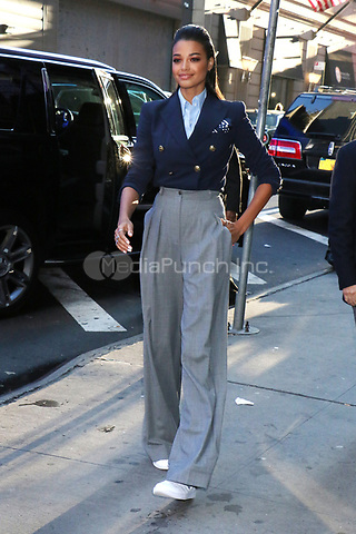 NEW YORK, NY- November 06: Ella Balinska at Good Morning America promoting Charlie's Angels on November 06, 2019 in New York. City. Credit: RW/MediaPunch