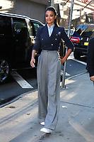 NEW YORK, NY- November 06: Ella Balinska at Good Morning America promoting Charlie's Angels on November 06, 2019 in New York. City. Credit: RW/MediaPunch