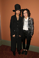 LOS ANGELES, CA - JANUARY 5: Linda Perry, Sara Gilbert, at the J/P HRO &amp; Disaster Relief Gala hosted by Sean Penn at Wiltern Theater in Los Angeles, Caliornia on January 5, 2019.            <br /> CAP/MPI/FS<br /> &copy;FS/MPI/Capital Pictures