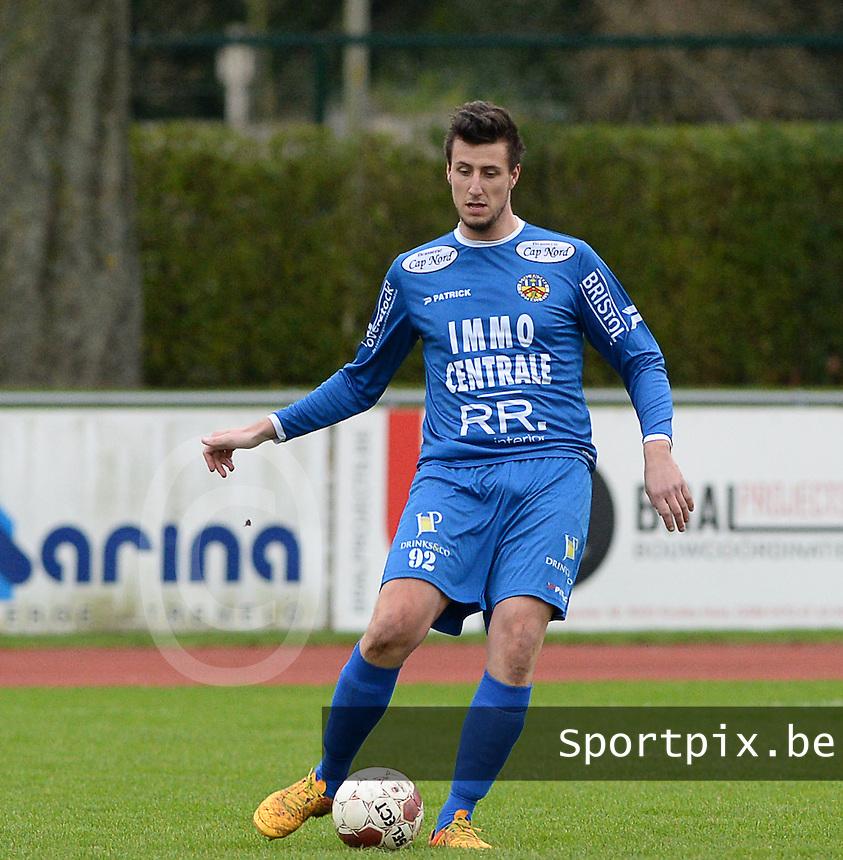 R Knokke FC : Jonas Vervaeke<br /> Foto VDB / Bart Vandenbroucke