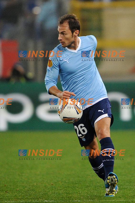 Stefan Radu (Lazio).Roma, 03/11/2011 Stadio Olimpico.Football Calcio 2011/2012 .Lazio vs Zurigo 1-0.Europa League.Foto Insidefoto Antonietta Baldassarre